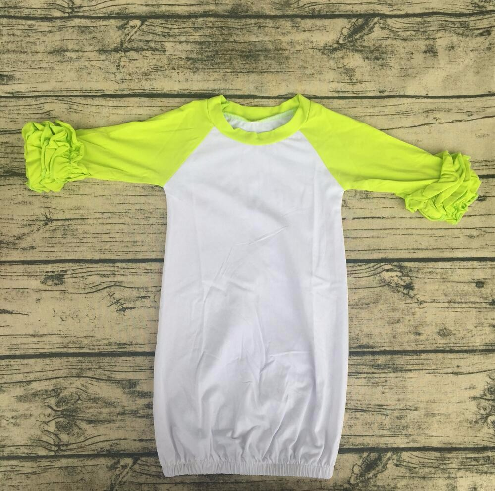 Wholesale Hot Sale Icing Raglan Infant Girls Christmas Long Sleeve