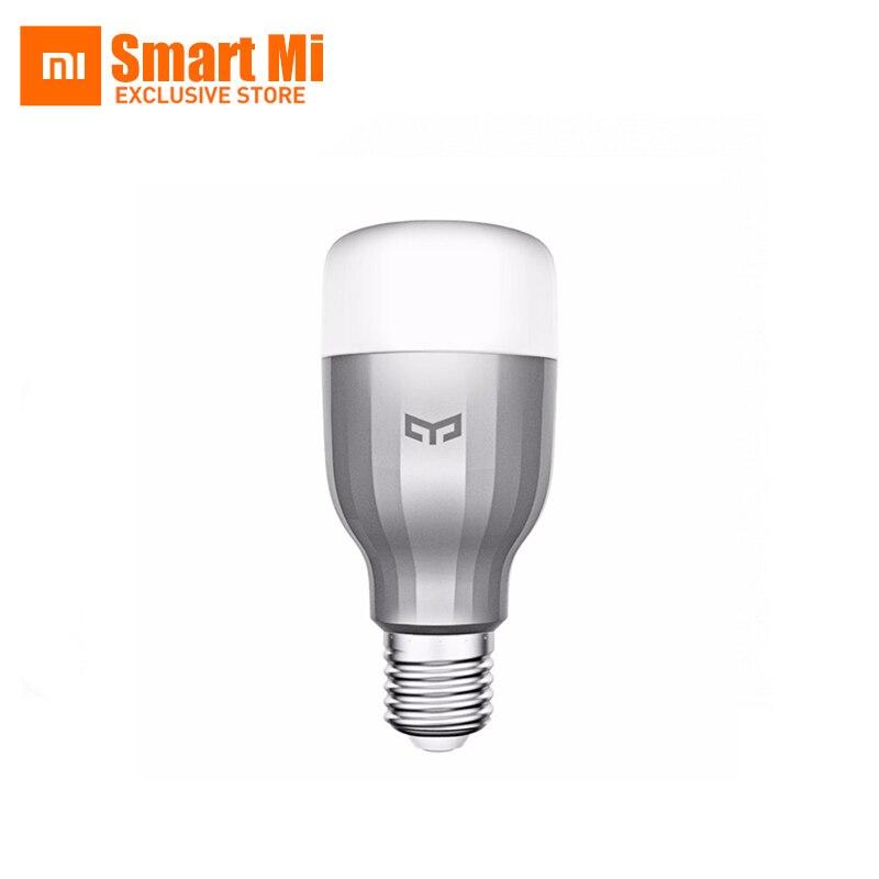 Xiaomi Yeelight Couleur Lumière LED Smart Lumière Ampoule Lampe Wifi Contral 9 W pour Smartphone iOS/Android App WIFI-Couleur lumière édition