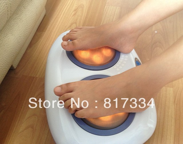 Foot massager Heat waves are foot massage machine massager Electronic physical Foot Massager