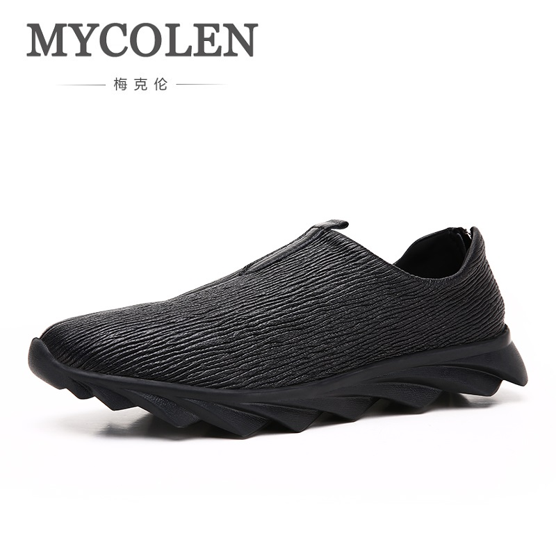 MYCOLEN 2018 Spring/Autumn Men Shoes Breathable Lace-Up Casual Shoes Men High Quality Sneakers Calzado Deportivo Hombre klywoo new white fasion shoes men casual shoes spring men driving shoes leather breathable comfortable lace up zapatos hombre