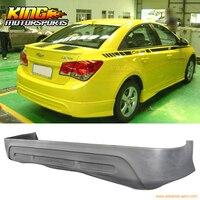 Fit 2011 12 Chevrolet Cruze Sedan 4Dr Rear Bumper Lip Spoiler Poly Urethane