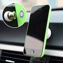 Mini Car Phone Holder Magnet Dashboard Phone Holder For Iphone Accessories GPS Car Mount For Phone  M8617