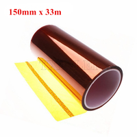 High Temperature Resistant Polyimide Tape gold 150mm X 100ft