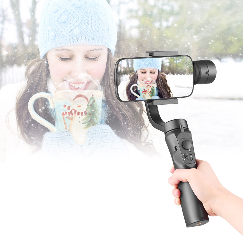 3 Axis Handheld Gimbal Smartphones Stabilizer Built in Lithium Battery for iPhone for Samsung Huawei phone steadycam accessories-in Stabilizers from Consumer Electronics    1