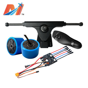 Maytech  hoverboard electric skateboard esc dual 30a 10s controller and e board hub motor with truck and rmeote