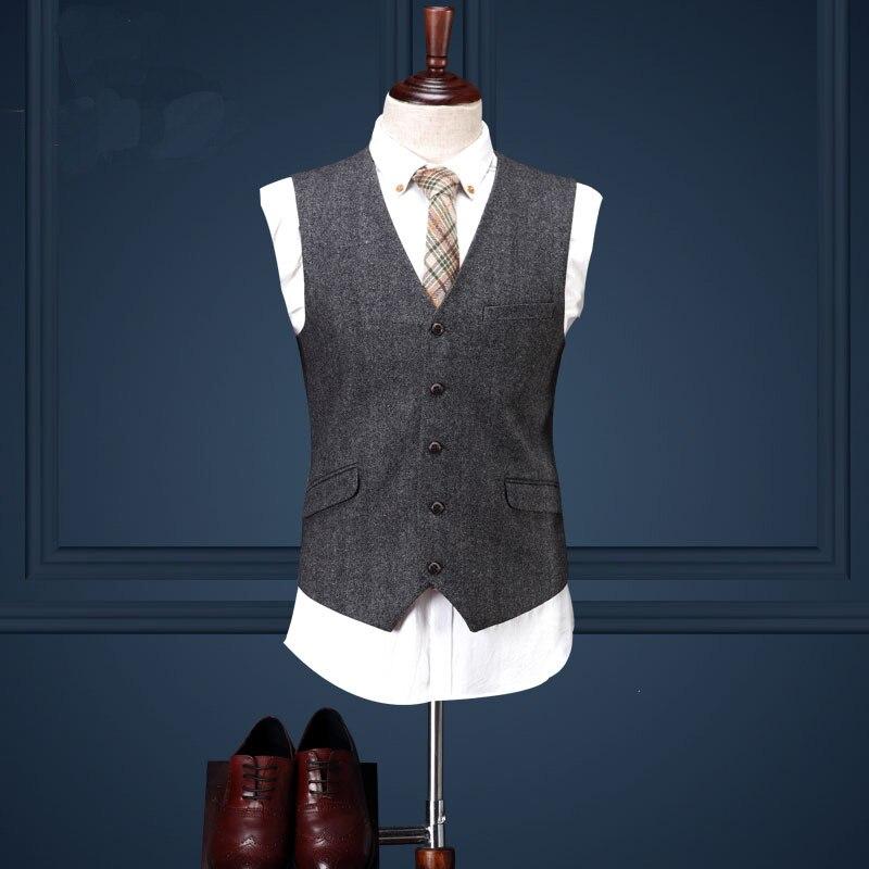 Trajes de lana para hombre de alta calidad Traje masculino de 3 - Ropa de hombre - foto 4