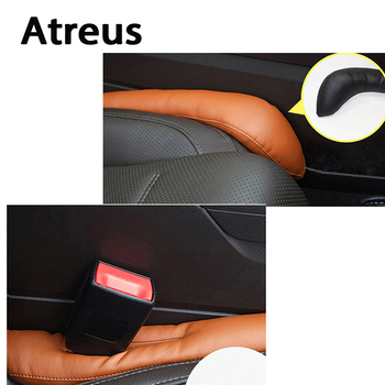 Atreus Car-Styling Seat Gap Filler Pad Cover For Ford Focus 2 3 Fiesta Toyota Corolla Avensis Mazda 3 6 cx-5 Lada Accessories 1X image
