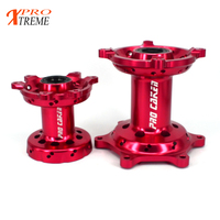 Motorbike Red Blue Front And Rear Hub Wheel Drum Core For HONDA CR125 CR250 CRF250R CRF450R CRF450X CRF250X