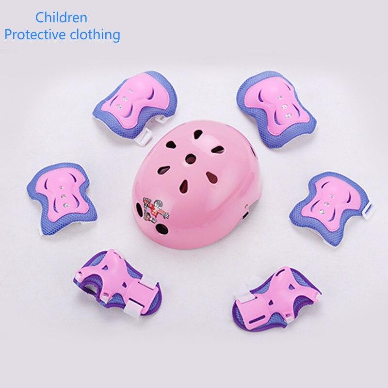 Vysoce kvalitní bruslařské boty pro děti na kolečkových bruslích skútr helma brnění oblek kolenní hlava ruční loketní souprava Ochranný oděv