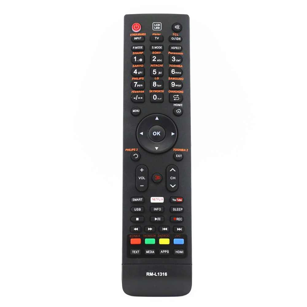 TV Remote Controller Kontrol untuk IRT (CH-1500 +) MASTER-G CH-1623 CH-2900 CH-8885 CH-2020 Nisato Parker Premier RCA CH-2012
