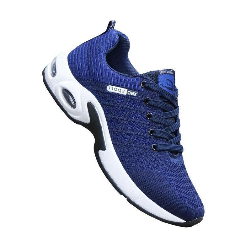 Da cinza Dos Qualidade Malha Moda Up Azul Lace Esportes Novos Alta Respirável Masculinos Vermelho Sapatos vermelho Mocassins Azul De Chunky Verão Casuais Homens Tênis CBAqzt