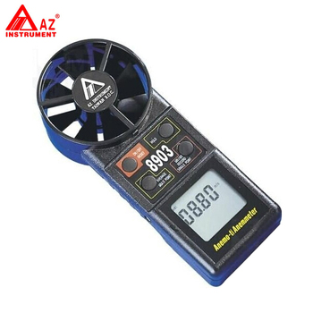 AZ-8903 Portable Digital Anemometer Fan Air Flow Tester