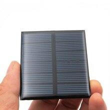 3V 150mA 0,45 ватт Панели солнечные Стандартный эпоксидный поликристаллический кремний DIY батарея заряд энергии Модуль Мини Солнечная батарея игрушка
