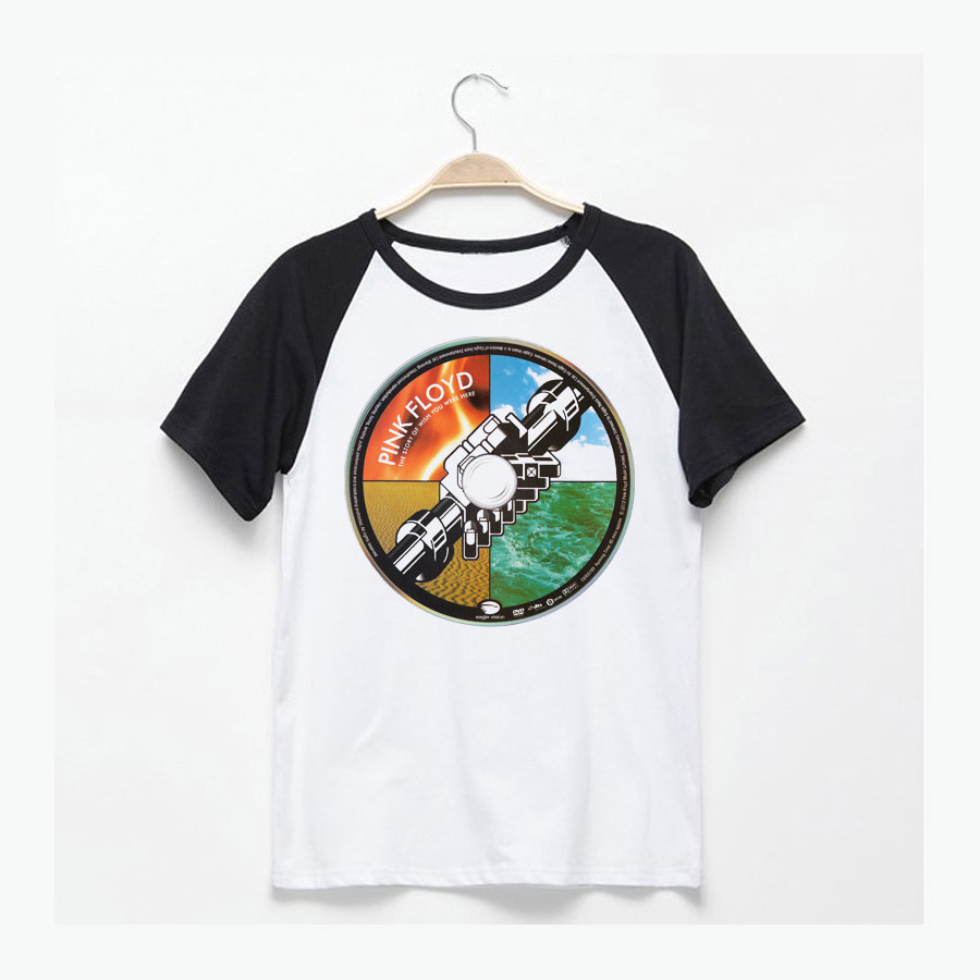 Pink Floyd Flower Symbolism High Quality T Shirt Vintage Fashion