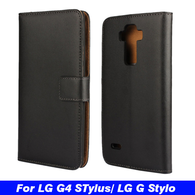 new style 9e26f d281e US $4.23 10% OFF|Luxury Wallet PU Leather Case For LG G4 Stylus H630 H635  H540 H540F / G Stylo H634 Flip Protective Phone Case Back Cover Skin-in ...