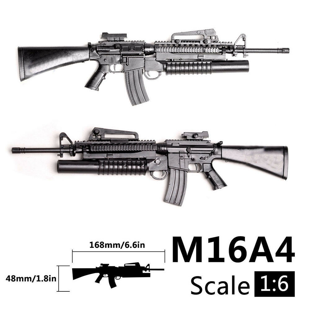 1/6 Scale M16A4 Toy Gun Model Puzzles Building Bricks Gun Rifle PUBG Mobile Gun