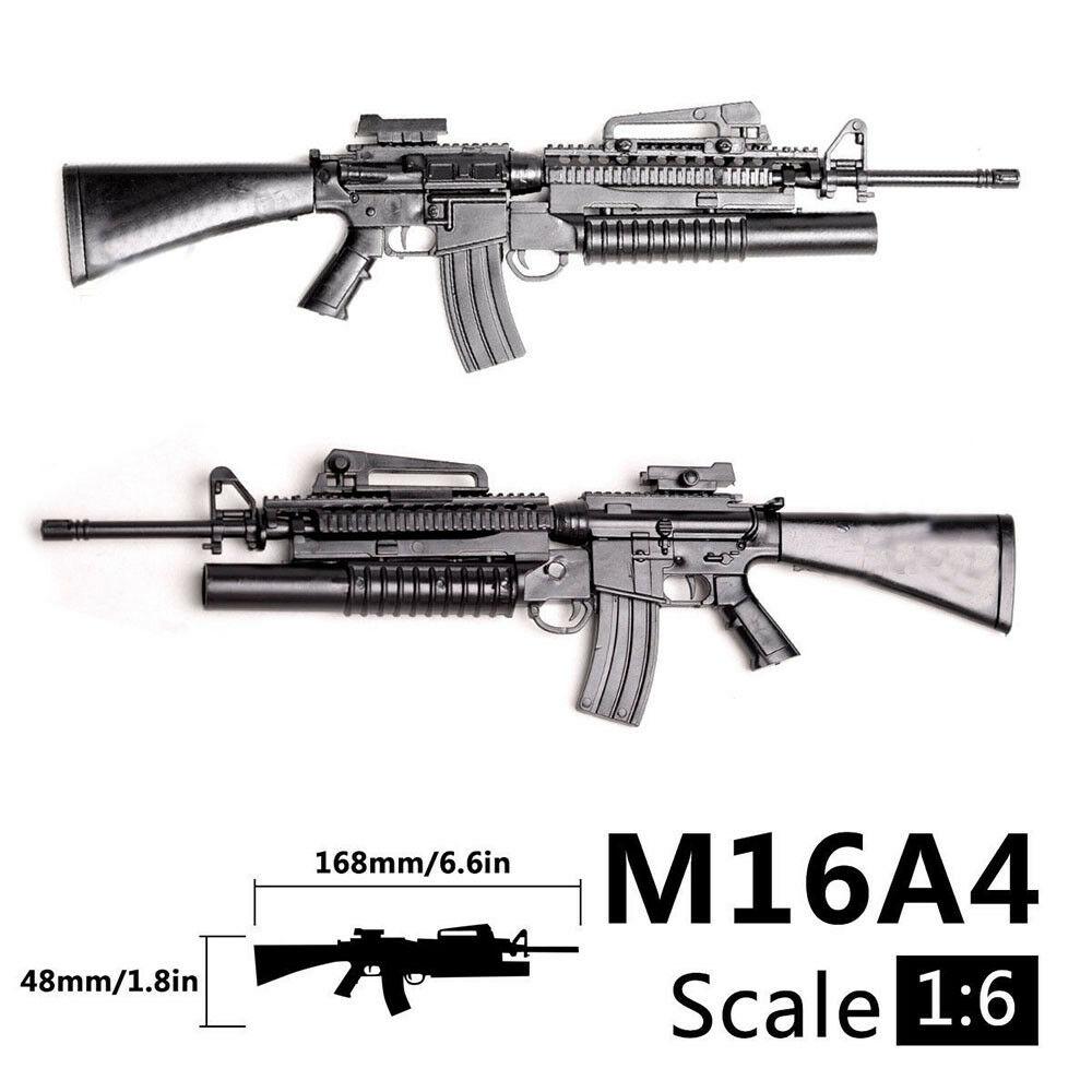 1/6 Scale M16A4 Toy Gun Model Puzzles Building Bricks Gun Rifle PUBG Mobile Gun