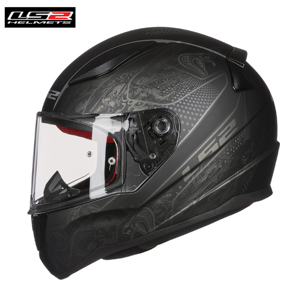 LS2 FF353 Rapid Full Face Motorcycle Helmet Racing Casco Casque Capacete Moto Touring Helmets Kask Helm Caschi For Honda YAMAHA ls2 global store ls2 ff353 full face motorcycle helmet abs safe structure casque moto capacete ls2 rapid street racing helmets