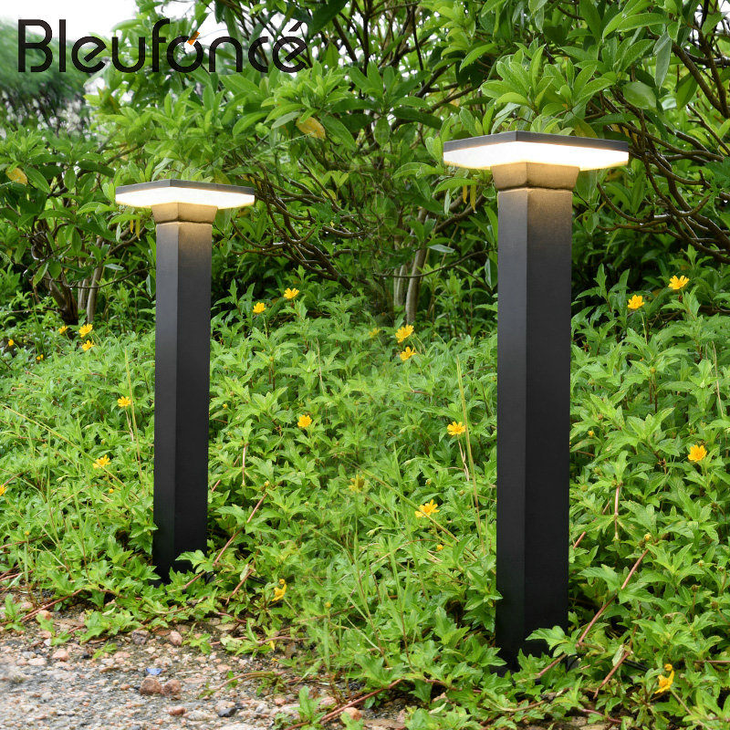 Outdoor Lawn Lamp Waterproof LED Fence Garden Light Simple Modern Landscape Light Park Lawn Lamps Home Street lights  220V BL106 ваза 749300