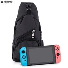 Myriann console bag Nintend Switch Backpack Crossbody Travel Bag For Console  Joy-cons and Via 59da7d8a8117e