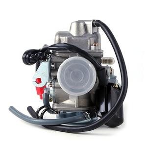 Image 3 - אופנוע קרבורטור פחמימות CVK עם מצערות חשמליות קטנוע טוסטוס טרקטורונים GY6 125 GY6 150 152QMI 1P52QMI 157QMJ 1P57QMJ 24 28 30mm ש