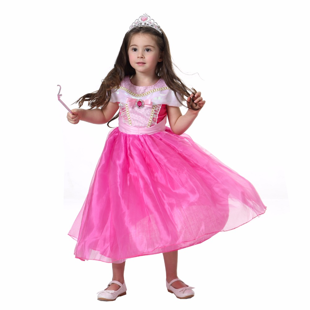 2f876061662 Girls Sleeping Beauty Princess Cosplay Party Communion Dresses Children  Aurora Costume Clothing Kids Tutu Dress For Christmas-in Dresses From  Mother U0026 ...