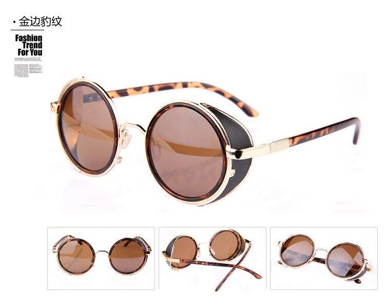 f1c13341fad 2015 New Fashion European Style Round Shape Sunglasses Women Men Lady  Unisex Sun Glasses Female Eyewear Accessories LFZ7-in Sunglasses from  Apparel ...