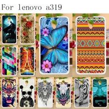 Anunob Phone Cases For Coque Lenovo A319 4.5 inch Case A 319 Soft Silicone Back Cover a Funda Capa Bumper