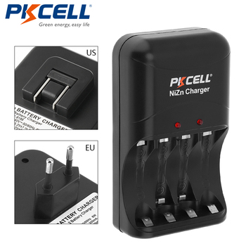 1 paquet * chargeur de batterie PKCELL ni-zn AA/AAA prise ue/US uniquement chargeur pour piles rechargeables ni-zn AA/AAA
