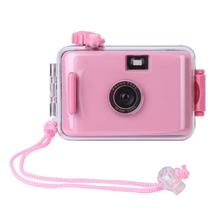 SIV New Small Cute Underwater Waterproof Camera Mini 35mm Film With Housing Case Waterproof Camera 2018 High Quality