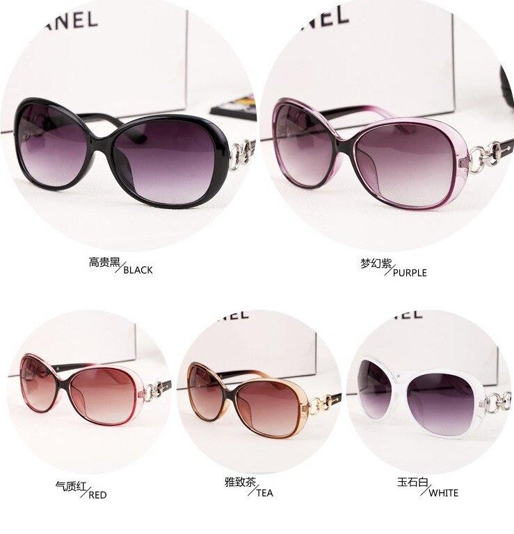 2015 nuevas gafas de sol modelos femeninos marea cara redonda grande ...