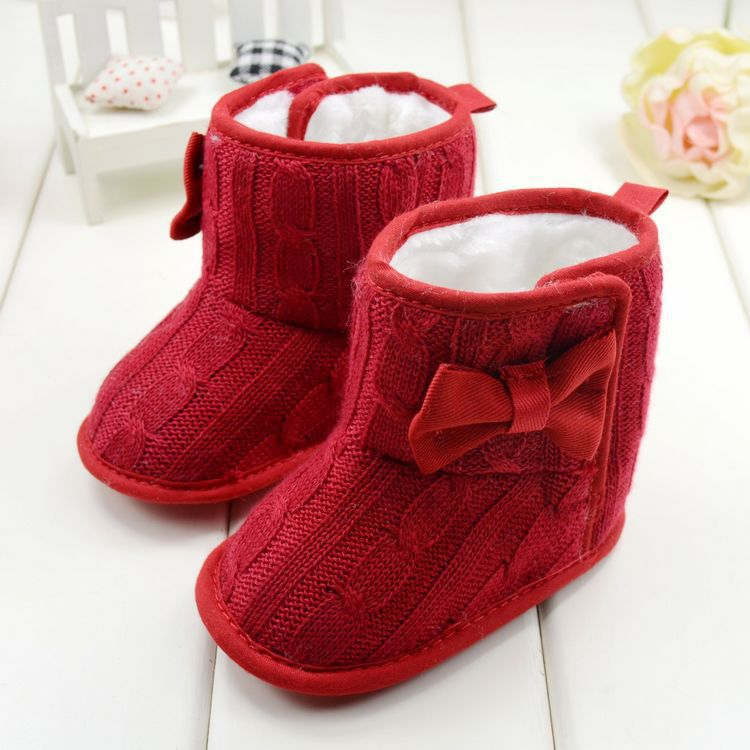 Aliexpress.com : Buy 5 Color Baby Knited Faux Fleece Crib Snow ...