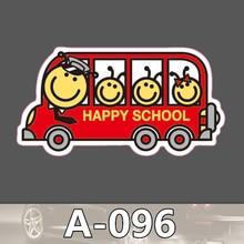 Bevle A-096 Schulbus Wasserdicht Mode Kühle DIY Aufkleber Für Laptop Gepäck Skateboard Kühlschrank Auto Graffiti Cartoon Aufkleber