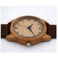 Fashion Simple Bamboo Sandalwood Quartz Watch Hot Men And Women Models High Quality Strap Wood Watch