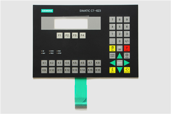 6ES7623 1DE01 0AE3 6ES7 623 1DE01 0AE3 Membrane Keypad For SIMATIC C7 623 Repair HAVE IN