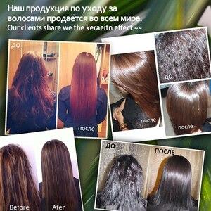 Image 5 - 11.11 purc queratina brasileira 8% formalina 300ml queratina tratamento do cabelo e 100ml tratamento de purificação do cabelo shampoo venda quente