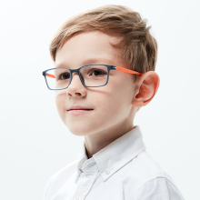 Kirka TR90 Frame Glasses Children Flexible Kids Optical Eyeglass Frames Square Eyeglasses For 6-10