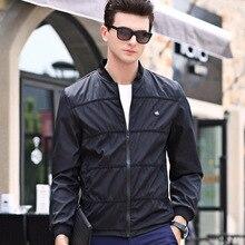 2017 Autumn Men's Jacket Fashion Baseball Clothing Youth High Quality Jacket Solid Color Loose Men Jacket