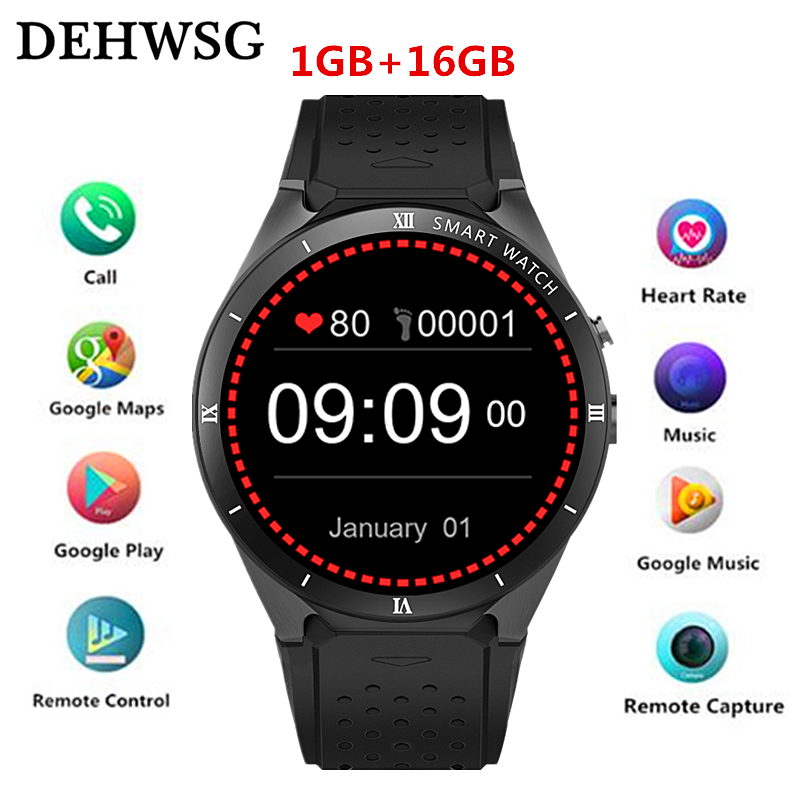 Smart Watch KW88 PRO For Samsung gear s3 with 2MP Camera 2GB RAM 16GB ROM SIM Card 3G WIFI GPS Smartwatch Heart rate monitor цена