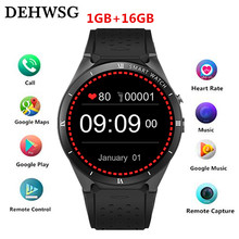 Smart Watch KW88 PRO For Samsung gear s3 with 2MP Camera 2GB RAM 16GB ROM SIM Card 3G WIFI GPS Smartwatch Heart rate monitor(China)
