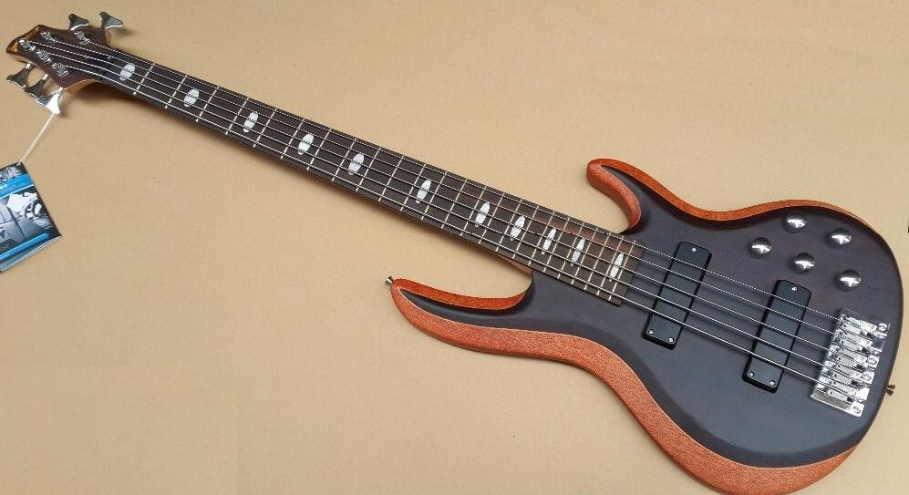 Pick-up attivo 5 string bass guitar con doppio regolato Collo per il gioco professionale