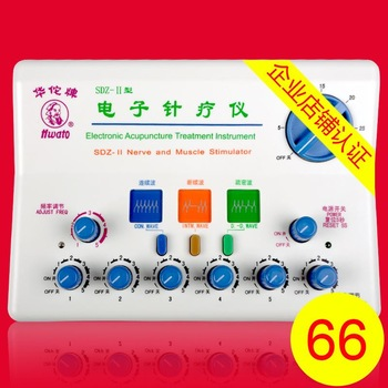 SDZ-II Electronic Acupuncture Treatment Instrument.Electronic pulse muscle stimulator. TENS EMS Massage 12 pads for Migraine...