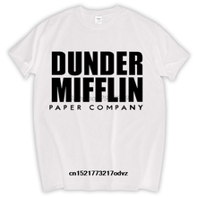 2f42f16e6 Men T shirt DUNDER MIFFLIN BRAND Funny Cotton Adult TOP Tee Sizes S-3XL  funny