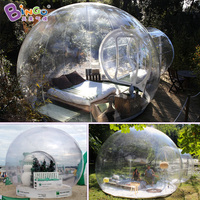 6X4 Meters transparent bubble tent / transparent dome tent / transparent camping tent toy tents