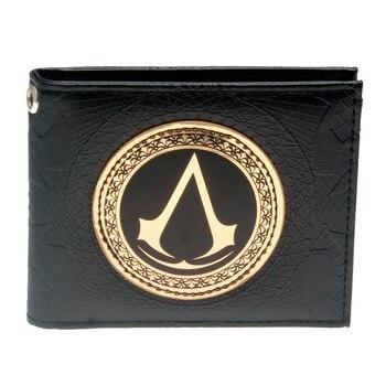 Кошелек Кредо убийцы Assassins Creed черный с эмблемой
