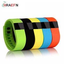 Hraefn Bluetooth Умный Браслет TW64 Smartband Фитнес-трекер часы Сообщение Вызова Напомнить Браслет спорта браслет Для IOS Android