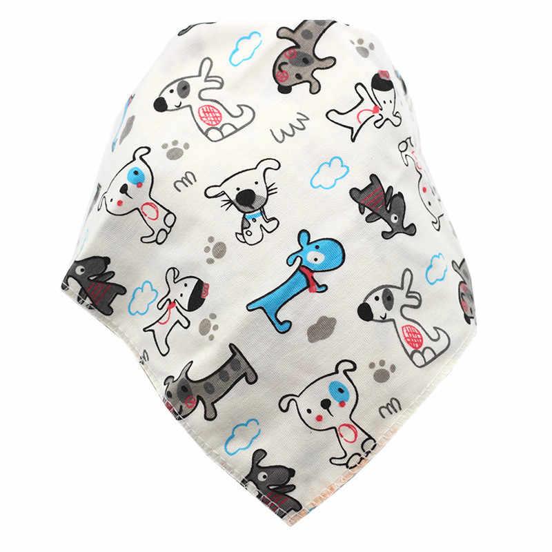 Baby Bibs Triangle Cotton Cartoon Child Baberos Bandana Bibs Babador Dribble Bibs Newborn Slabber Absorbent Cloth