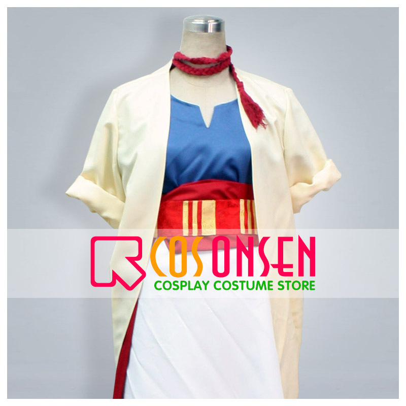 COSPLAYONSEN Magi The Labyrinth of Magic Alibaba Cosplay Costume All Size