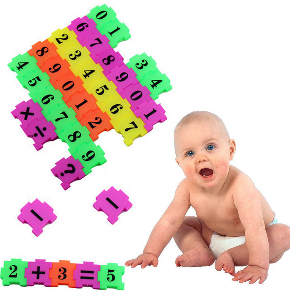 New 36Pcs Number Puzzle Foam Maths For Baby Child Educational Toy Gift EVA Foam Puzzle Mats Digital Sign Puzzles Brinquedos