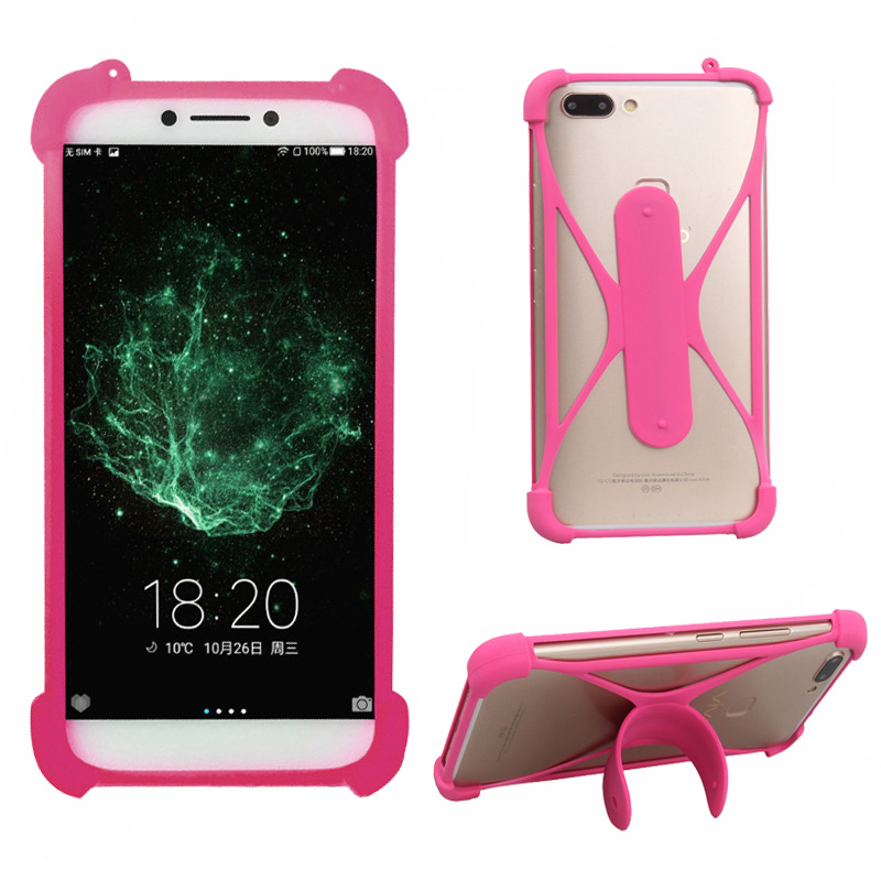For Doogee X70 Case 5.5 inch Universal Silicone Bumper Mobile Phone Holder Case For Doogee X70 Phone Cover Coque mobile phone